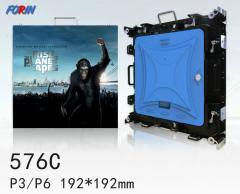 Rental led screen P3,P6 192*192mm