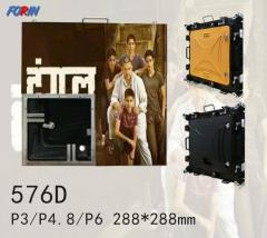 Rental led screen P3,P4.8,P6 288*288mm