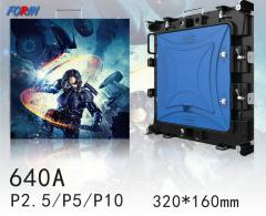 Rental led screen P2.5,P5,P10 320*160mm