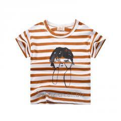 Детские короткий рукав хлопок футболки