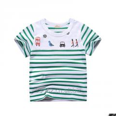 Free shipping Children's short sleeve cotton