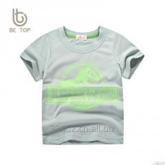 Free shipping Children's short sleeve cotton
