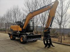 SYNBON High Quality Low Price wheel  Excavators