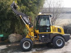 SYNBON SY910E  1ton mini loader export to Germany with CE