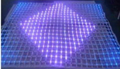 LED flexible mesh, transparent screen mesh P30 ,P40 P50 P60 P80 P100 P120