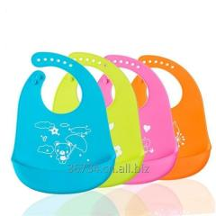 Waterproof Soft Silicone Bibs