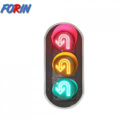 LED traffic light turning  from  china