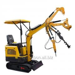 SYNBON SY601.1 Chineses Mini Excavator 1ton micro Small Digger with Rubber Track for garden construction