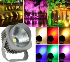 LED Flood Light Outdoor with sensor RGB for...