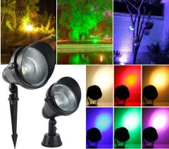 [Copy] LED Flood Light Outdoor with sensor RGB for trees 10W 20W 30W  from  China factory