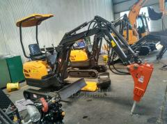 SYNBON SY601.6 Chineses Mini Excavator 1.6ton micro Small Digger with Rubber Track for garden construction