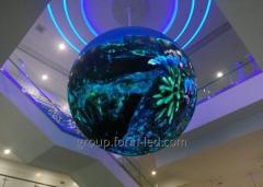 Светодиодные экраны шарики видео шарики для комнат