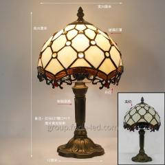 Tiffany Stained Glass Table Lamps form China