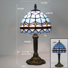 Tiffany handmade stained glass table lamps