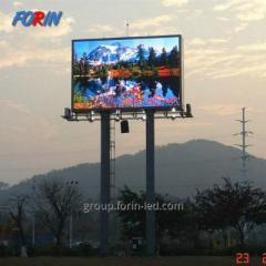 Outdoor LED advertising screens SMD P10 3m×4m