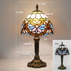 New in 2020 tiffany stained glass table lamps  China