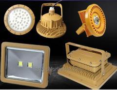 LED Лампа используется на предприятиях нефтяной и