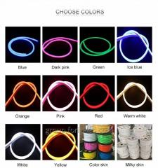 Flexible LED Flex Silicone Neon Outdoor 220V...