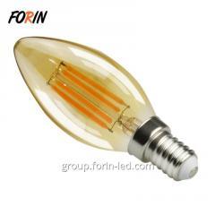 Dimmable светодиодные лампы Длинные лампочки 2W 4W