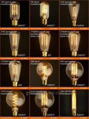 Incandescent filament decorative  led C35 G45 T30