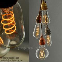 incandescent filament decorative warm white  A60