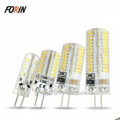 LED bulbs with G4 socket on chandeliers  white 3W