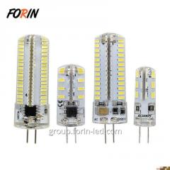 LED bulbs with G4 socket on chandeliers warm white 2W 3W 5W 12V G4  6000K Chinese factory