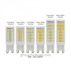 G9 Светодиодные лампы для люстры Белый Регулятор