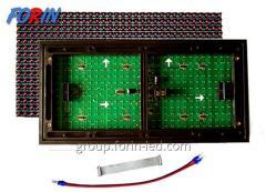 LED светодиодный модуль  Красный P10 DIP R 320mm
