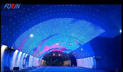 LED dynamic festive arch made to order in...