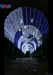 LED dynamic Arch festive on order