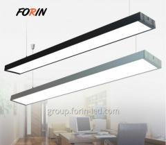 58W linear linear office pendant lights