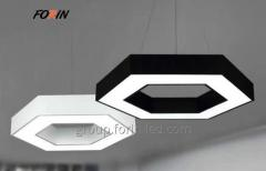 linear linear LED downlights Hexagon  The New