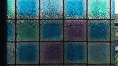 Film stained-glass windows