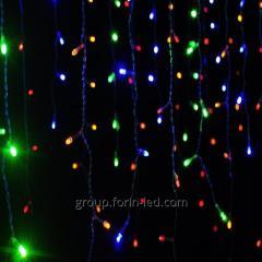 LED fringe window garland