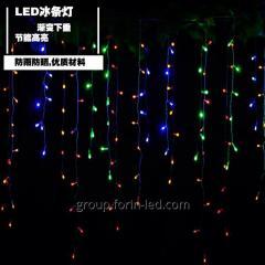 Led street garland rain