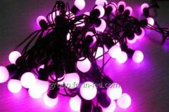 LED multi-ball garland 5м