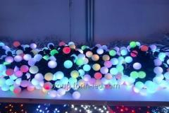 Новогодние светодиодные гирлянды для елки