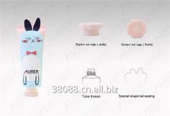 D30mm Rabbit Shape Tube Cosmetic Packaging with