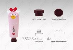 D30mm Angry Bird Cosmetic Tubes Packaging with