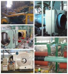Steel pipe 3 layer PE anticorrosion coating