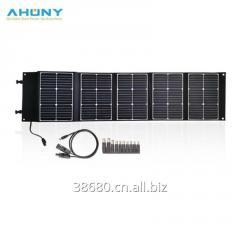 100w foldable solar kit blanket suitcase solar