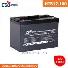 Csbattery 12V100ah Deep Cycle High Temperature Gel