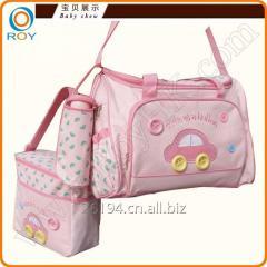 Custom Multifunctional 4pcs/set Diaper bag for