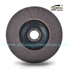 Flap disc with Silicon Carbide