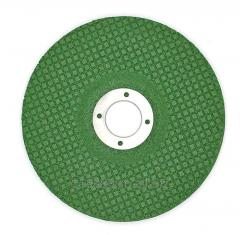 4'' and 14'' green flexible grinding wheel