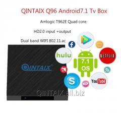 QINTAIX Amlogic T962E Quad Core TV Box 2G 16G RTC