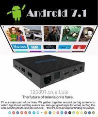 Q96 Tv BOX Amlogic T962E Quad Core Android media