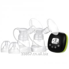 Portable Double Electric Breast Pump Touch Buttons