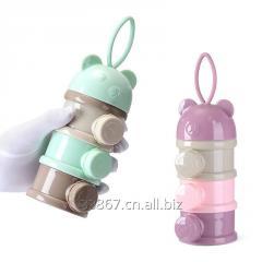 3  слоя медведь стиль портативная детская коробка